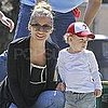 Nicole Richie, Joel, Sparrow, and Harlow Madden Visit a Park in LA Pictures