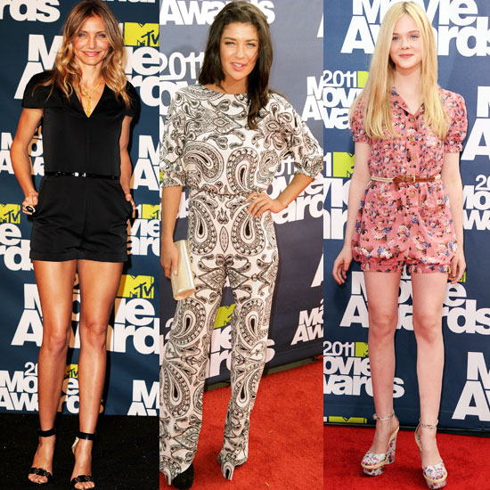 2011 MTV Movie Awards Trend Alert: Cocktail Playsuits