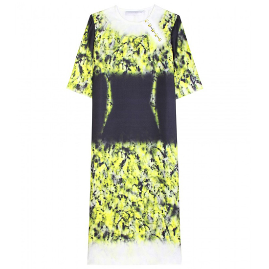 Proenza Schouler Printed Silk Twill Dress, $1249