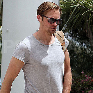 Alexander Skarsgard Visiting a Gym in LA Pictures