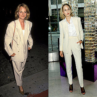 Leelee Sobieski's Cream Menswear Suit by Adam Kimmel 2011-06-07 09:11:46