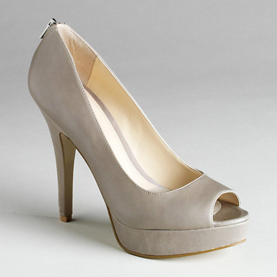 Enzo Angiolini Snippet Exposed Zip Pump, $99