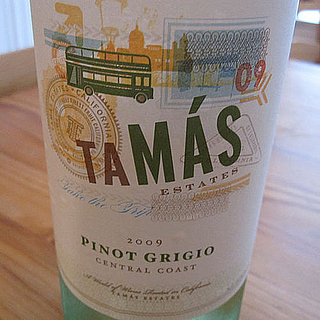 Review of 2009 Tamas Pinot Grigio