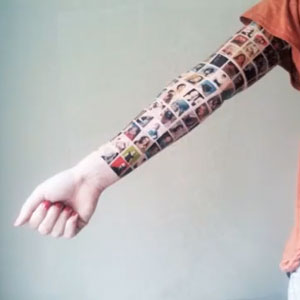Facebook Friend Tattoo and Other Geeky Tattoos