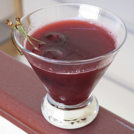 Easy Cherry Cocktail Recipe: Scarlet Harlot