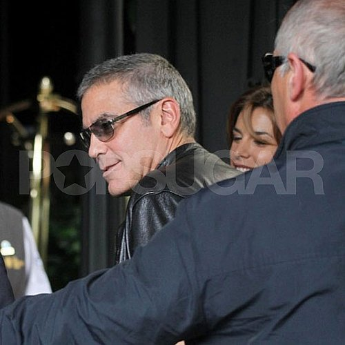George Clooney and Elisabetta Canalis Pictures