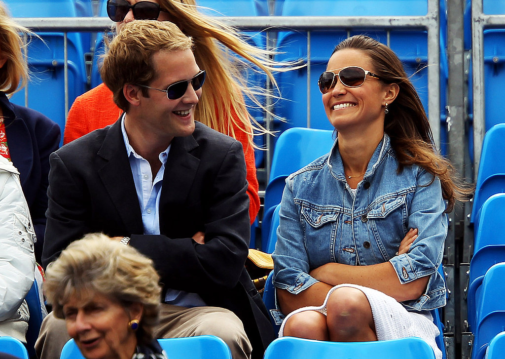 Pippa Middleton Makes a White-Hot Appearance at a Tennis Match