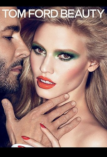 Lara Stone for Tom Ford Beauty Collection Ad Campaign