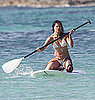 Picture of Celebrity on a Paddleboard in Spain