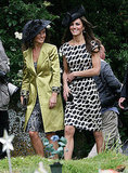 Kate and Pippa Middleton Step Out For Friends Sam Waley Cohen and Bella Ballin's Wedding!