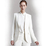 The Row Shawl-Collar Silk Blazer, $1,820