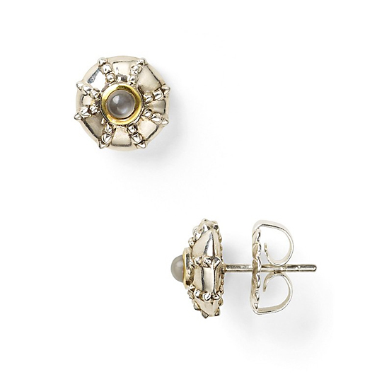 Elizabeth and James Small Sea Urchin Studs, $125