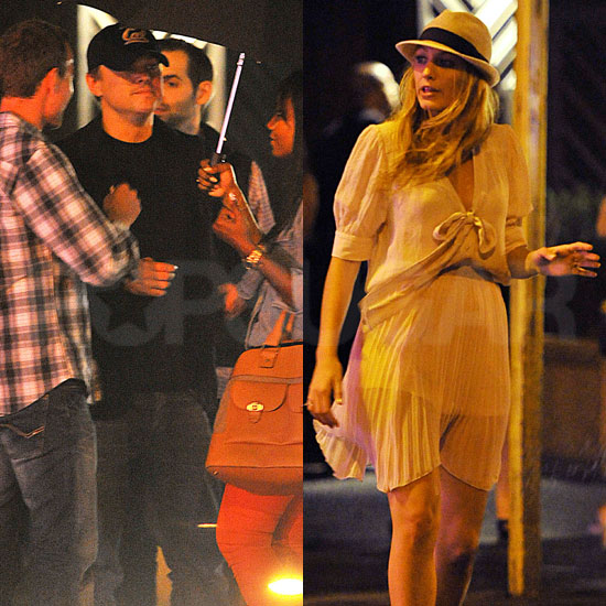 Blake Lively and Leonardo DiCaprio Have a Date Night at NYC Hot Spot The Darby