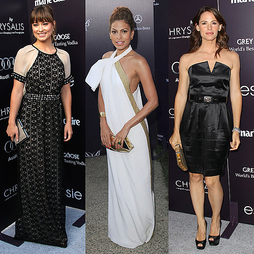 Pictures of Celebrities at theChrystalis Butterfly Ball, Including Jennifer Garner, Mila Kunis, Eva Mendes and Ashley Greene
