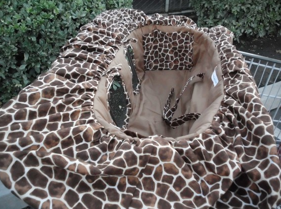 Giraffe Cart Cover
