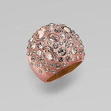 Alexis Bittar Rose Dust Dome Ring, $245