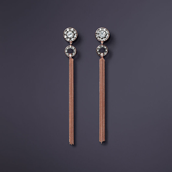 Agent Provocateur Hareem Earrings, $200