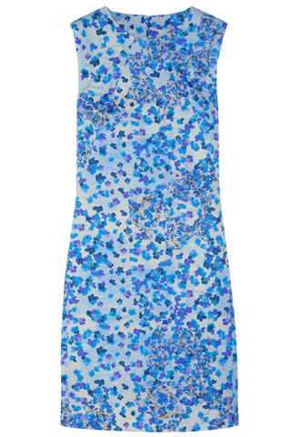 Erdem Gloria Printed Dress, $1,010