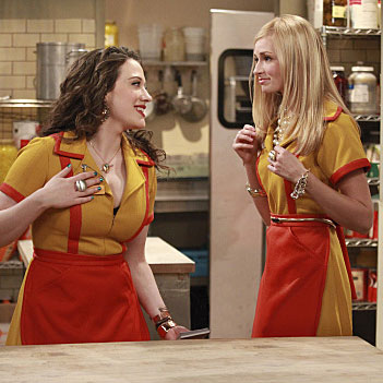 TV Preview of 2 Broke Girls on Channel Nine Starring Kat Dennings and Beth Behrs