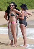 Stephanie Pratt Splashes Around in Her Bikini During a Family Vacation in Hawaii