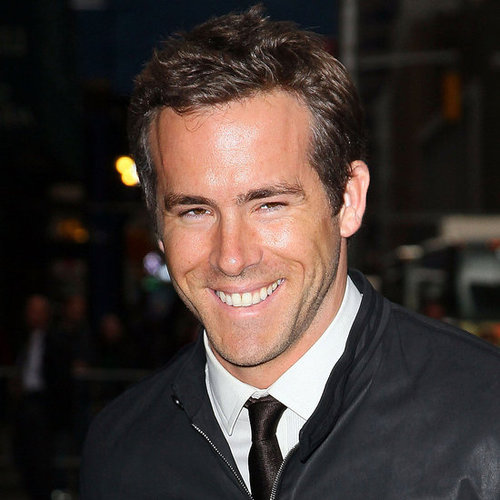Ryan Reynolds Arriving to The Late Show With David Letterman