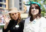 Princesses Beatrice and Eugenie Dress Up For a Sunny Royal Day