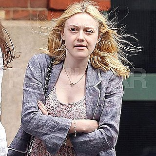 Dakota Fanning in NYC Pictures