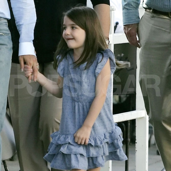 Suri Cruise Has a Special Lunch With Katie Holmes and Her Grandparents!