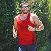Pictures of Jake Gyllenhaal Jogging