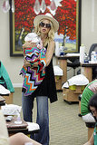 Rachel Zoe Introduces Baby Skyler to the Joys of the Salon