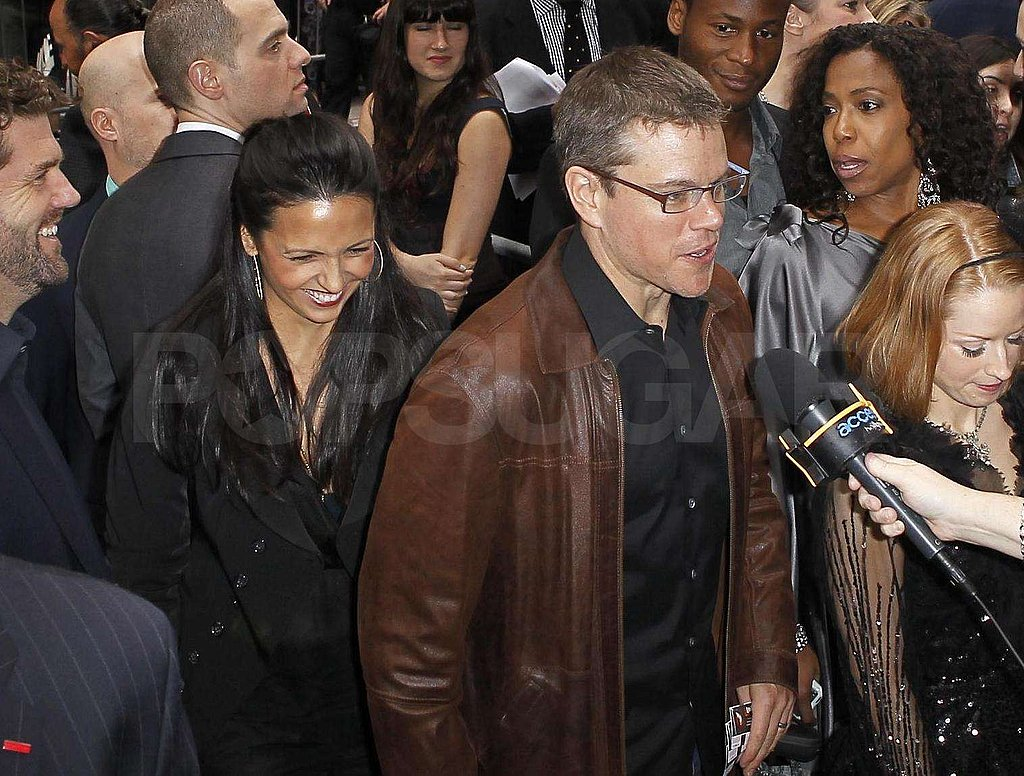 Matt Damon and Jay-Z Make the Scene at Spider-Man: Turn Off the Dark's Revamp