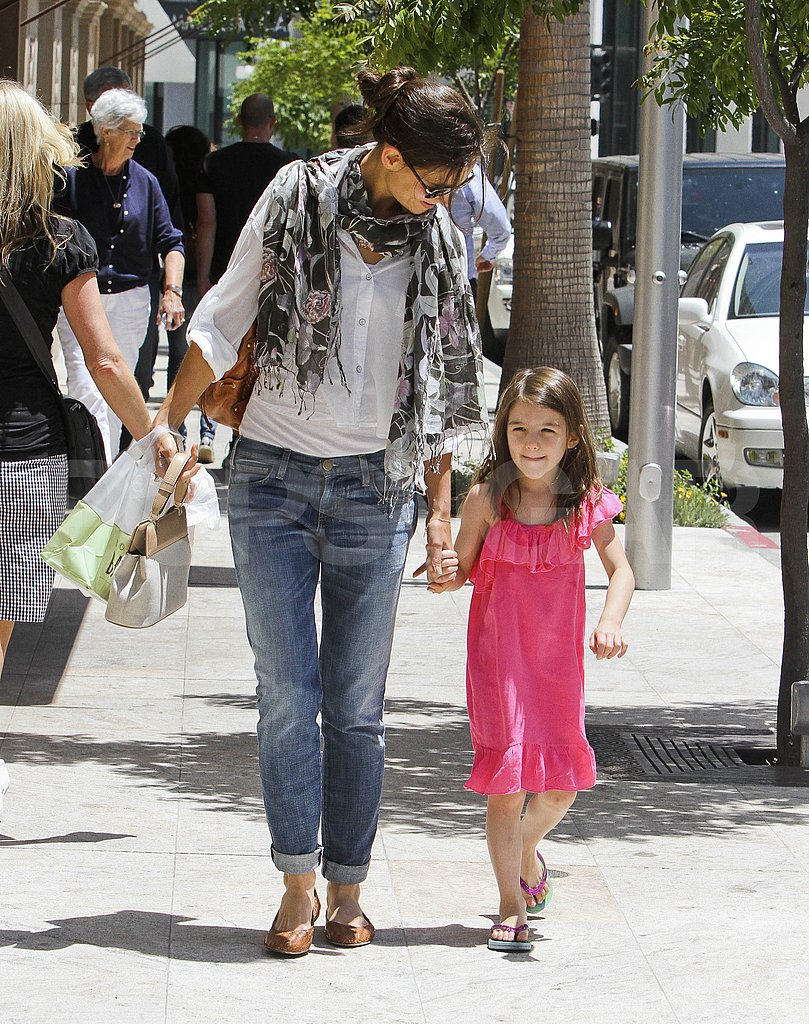 Katie and Suri Run Around LA as Tom's Height Becomes an Issue With His New Role