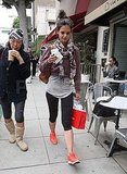 Katie Holmes Takes Care of Her Sweet Tooth With a Chocolate Stop