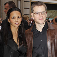 Matt Damon and Wife Join Jay-Z at Spider-Man on Broadway