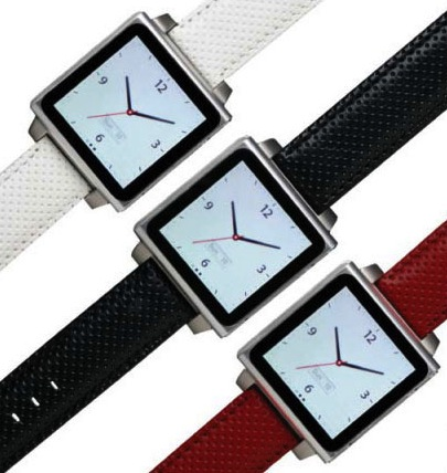 Leather HEX iPod Nano Watchband ($50)
