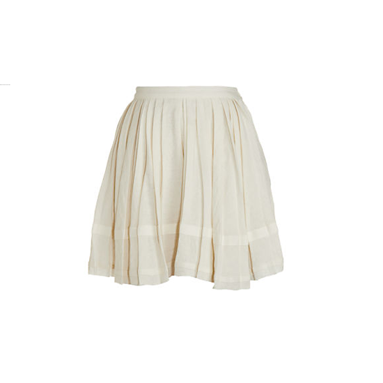 Boy by Band of Outsiders Pleated Raw Edge Skirt, $720