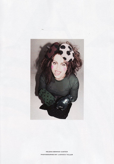 Two Kooky New Images of Helena Bonham Carter for Marc Jacobs Fall 2011