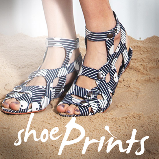 Prints Charming — Chic (and Cheeky) Printed Sandals and Wedges