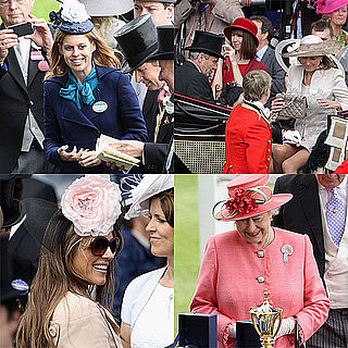Princess Beatrice, Queen Elizabeth, Carole Middleton Pictures at Ascot