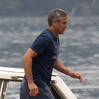 George Clooney Pictures at Lake Como
