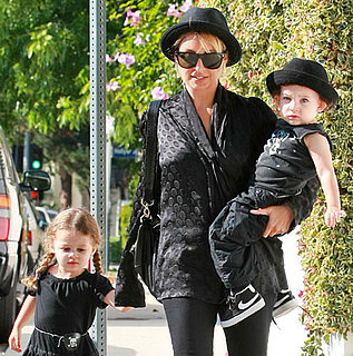 Pictures of Nicole Richie With Sparrow and Harlow