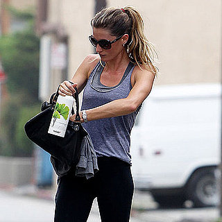 Pictures of Gisele Bundchen at the Gym