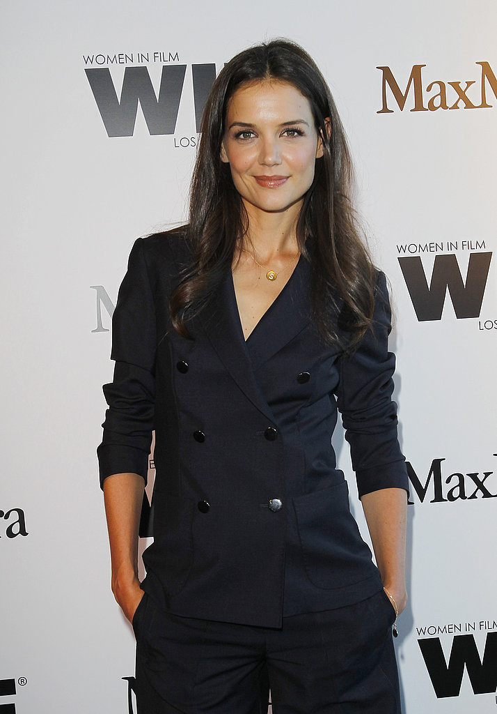 Katie Holmes Has Ashley Greene and Anna Kendrick to Support Her Face of the Future Win