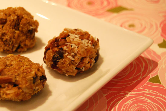 Peanut Butter and Honey Balls