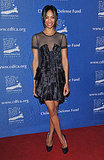 At the Annual Beat the Odds Awards in 2010, Zoe wore an artfully pleated dress by