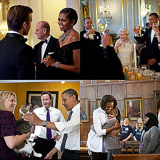 Obamas Release Behind the Scene Photos From UK Trip