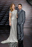 Rosie Huntington-Whiteley, Shia LaBeouf at a Berlin premiere for Transformers: Dark of the Moon.