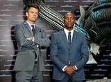 Josh Duhamel and Tyrese Gibson promote Transformers in Berlin.