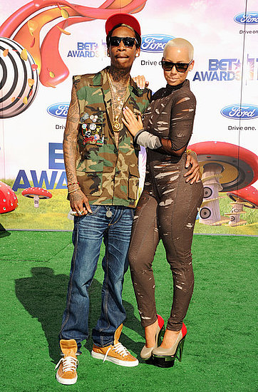 Wiz Khalifa and Amber Rose(2011 BET Awards)