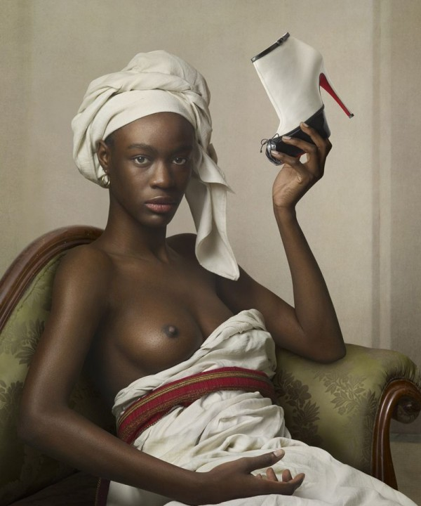 See Christian Louboutin's Portrait-Inspired Fall 2011 Lookbook